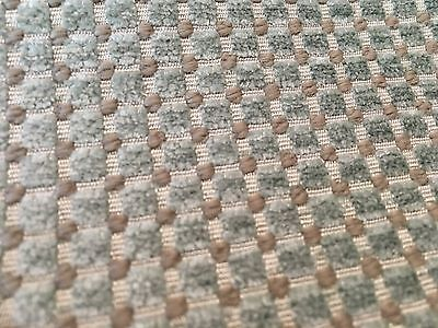 Dot Cotton Chenille Fabric - Romo Soft Textured Dot Chenille Upholstery Fabric- Lorne Mineral 2.75 yd 7500/05