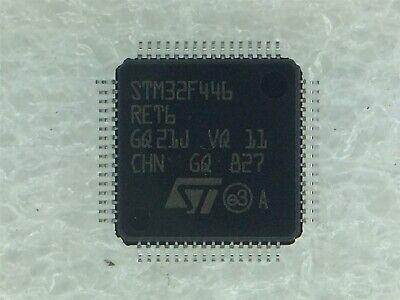 Stm32f446ret6 St Micro Mcu 32-bit Stm32 Arm Cortex M4 512kb Flash Rohs 1 Unit