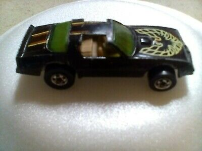 Vintage 1977 Hot Wheels Hot Bird Trans Am Black