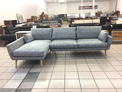 FORWELL 3 SEATER + CHAISE HIGH END FABRIC