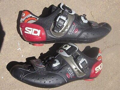 New SIDI Ergo 4 Carbon Composite Road Bike Cycling Shoes Black US Warehouse