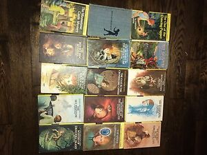 15 hard cover nancy drew books
