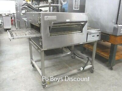 Lincoln Conveyor Oven 1100 Series Single 3 Phase Ss Stackable With Casters