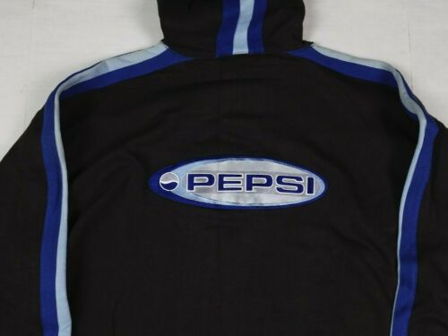 Vtg Pepsi Generation Next Pullover Oversized Hoodie Adult L/XL 90s