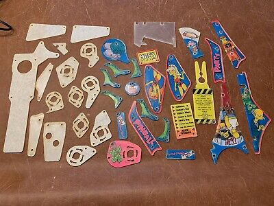 The Simpsons Pinball Party (TSPP) Plastic Set (Missing one plastic) - NOS