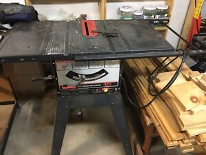 "Craftsman 10"" Table Saw For Sale Or Trade"
