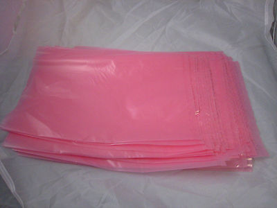 New Lot 100 12 x 18 inch Anti-Static Electronics Bags Large 2 mil Pink Computer