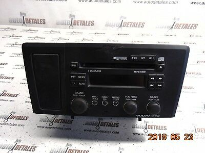 Volvo S60 RADIO STEREO CD CONTROL PANEL HU-803 used 2003