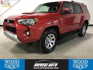 2015 Toyota 4Runner SR5 V6 4X4, REMOTE START, LEATHER