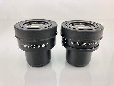 Olympus Rare Wh12.5x-h16 Bx Ax Ix Hi Eyepoint Microscope Eyepieces 12.5x