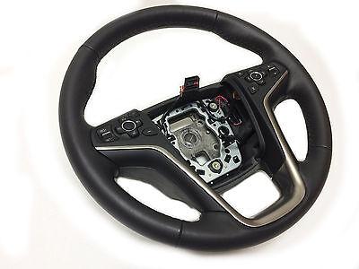 2014 2015 Buick LaCrosse Heated Steering Wheel OEM 23207588 Ebony Black Leather