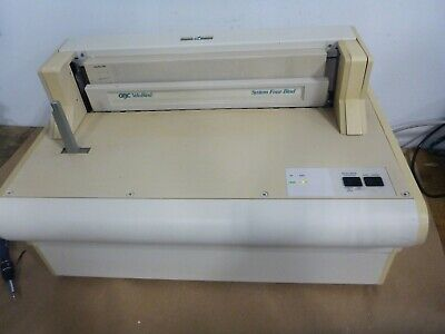 Gbc Velobind System4 Binding Machine Electric Binder
