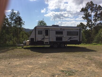 New Age Rockin Wallaby 2013 20ft AS NEW +  hail proof cover  Maudsland Gold Coast West Preview
