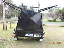 Modern Tradie Trailer set up for camping. Walker Flat Mid Murray Preview