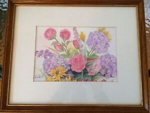 Original watercolours from a local Grey county artist