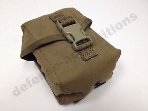 New-USMC-Coyote-MOLLE-100-Round-100-Rd-SAW-Pouch-Utility-Pouch-First-Aid-USGI