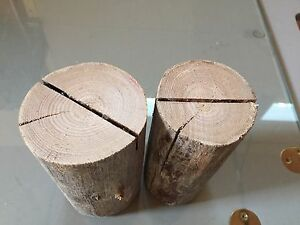 Tree Stump Table Number Holders