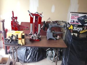 Complete shoe repair equipment