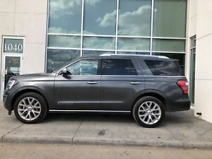 2018 Ford Expedition Full Load Platinum MAX With Captain Chairs