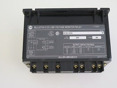 Used Allen Bradley Voltage Relay 813s-voh