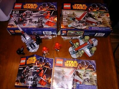 %COMPLETE⭐Lego Star Wars TROOPERS⭐75035 Kashyyyk⭐75034 Death Star⭐ALL MINIFIGS