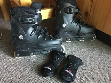 No fear Aggressive skates size 10 Men's