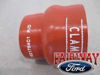 99 thru 03 Super Duty OEM Genuine Ford 7.3L Diesel Inlet to CAC Intercooler Hose