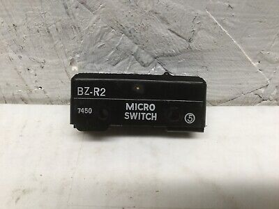 Micro Switch Bz-r2 Pin Plunger 15a 125 250 Or 480 Vac