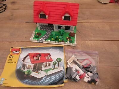 LEGO Creator Designer Set 4886 Building Bonanza House w/Manual