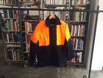 Vintage British Railways High Vis Jacket