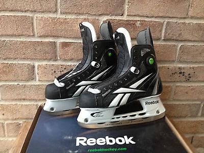 Reebok 8K Pump Junior JR Ice Hockey Skates All Sizes Pump Junior Skates