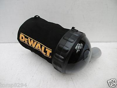 DEWALT DWV9390 DCP580 18V PLANER DUST & CHIP COLLECTION BAG & SUPPORT