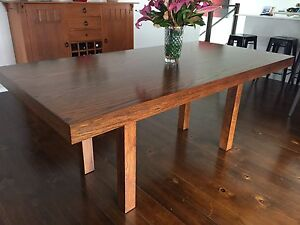 Dining room table and Bench Seats Bulimba Brisbane South East Preview