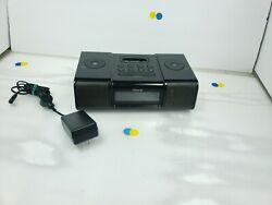 iHome Black iPod Speaker Dock Dual Alarm Clock Radio - Model #iP9 NO COVER