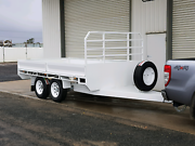 12x7 flat top trailer, 3500kg ATM, electric brakes, New Delacombe Ballarat City Preview