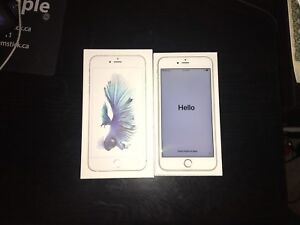 IPHONE 6S PLUS (32GB) (SILVER) (WARRANTY) (ROGERS) (CHARGER)