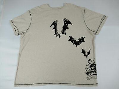 DISNEY PARKS - HALLOWEEN 2017 WRAP AROUND WITH BATS - 2XL TAN T-SHIRT - W1237](Disney Halloween T Shirts 2017)