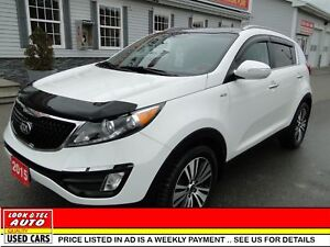 2015 Kia Sportage $21,995* or $97.00 weekly on the road EX Luxur