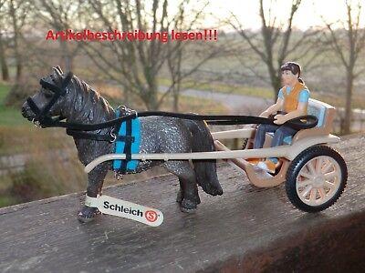 Kutschgeschirr (Kutsche) für z.B. Schleich Pferde (4)