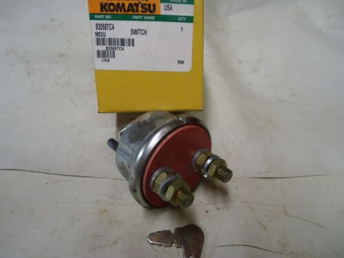 930587C4 M02U Switch Komatsu Genuine Part