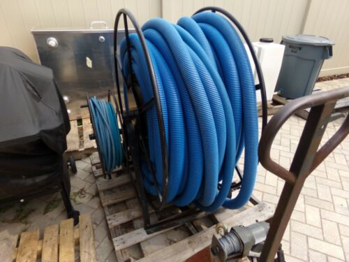 Truck Mount Extractor 300 FT Vacuum & Solution Storage Reels and Hose Package US