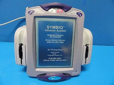 Abbot Labs Hospira Symbiq Dual Channel Infusion Pump Infusion System 10458