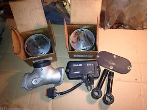 Harley Davidson big twin pistons and parts