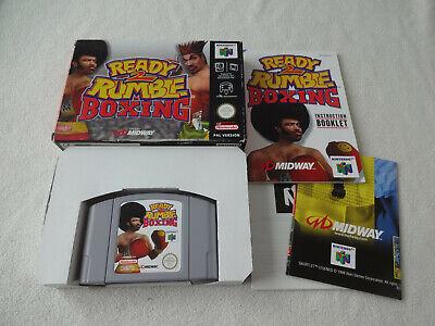 Ready 2 Rumble Boxing N64 Spiel komplett mit OVP und Anleitung