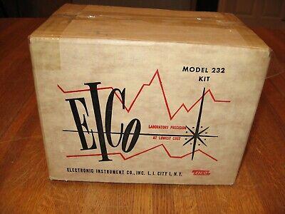 Unassemled Eico Model 232 VTVM