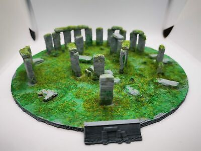 Stonehenge 3D Model - 3d printed & hand decorated.
