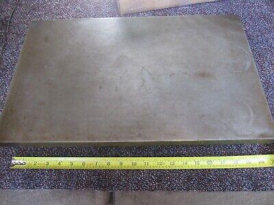 Cast Iron Surface Plate Layout Setup 103 Lbs 20-332 X 12-14 X 3-14 1 Top