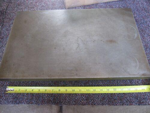 "Cast Iron surface plate layout setup 103 Lbs 20-3/32"" X 12-1/4"" X 3-1/4""  1"" top"