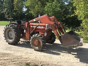Cockshutt 1265 4wd With Loader
