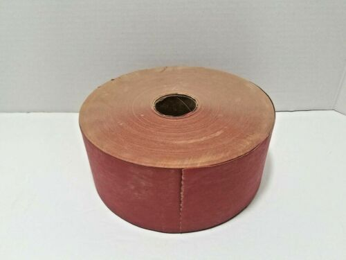 """Kraft Gummed Paper Sealing Tape Red Water Activated 3"""" Wide"""